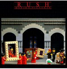 Rush--Lego Moving Pictures--there are some CRAZY Rush fans, and I'm happy to be one.