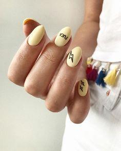 Маникюр Nail manicure 2018 2019 name writers fuck надпись - Nail Art Acrylic Nail Shapes, Cute Acrylic Nails, Cute Nails, Glitter Nails, Instagram Nails, Dream Nails, Gel Manicure, Manicure Ideas, Nail Ideas