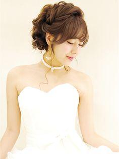 結婚式 ヘア 花嫁 くりくり - Google 検索