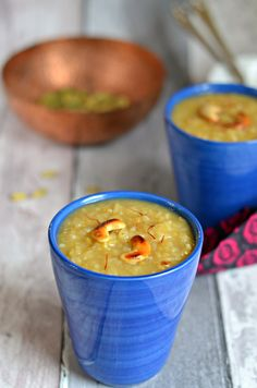 Easy and healthy South Indian rice and dhal payasam recipe. Perfect for pooja/navadyanam on festivals like Diwali, Navratri, Pongal, Onam, Gokul ashtami etc.