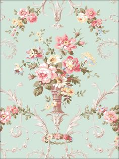 wallpaperstogo.com WTG-106199 Seabrook Designs Traditional Wallpaper