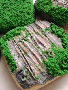 How to make Forest Moss cookies