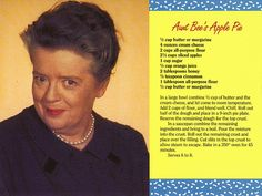 Bee Sweet Nothing says Mayberry better than Aunt Bee's homemade apple pie. Retro Recipes, Old Recipes, Vintage Recipes, Cooking Recipes, Frugal Recipes, Family Recipes, Cooking Ideas, Healthy Recipes, Vintage Ads