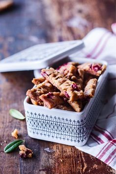 No Bake Cookies, Baking Cookies, Dessert Recipes, Desserts, Toffee, Coffee Shop, Waffles, Cereal, Goodies