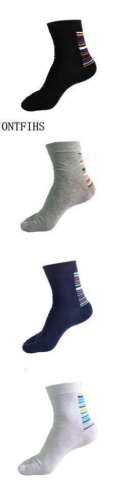 Men Socks Cotton Five Finger Toe Breathable Warm Absorb Sweat  Boy Elasticity Flexible Sock WZ121