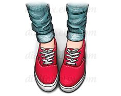 Like the color of my old jeans all my little girl dreams are faded, lackluster Like my worn out running shoes all my efforts . Blue Brown, Red And Blue, Red Vans Shoes, Blue Shoes, Silhouette Mode, Sneakers Sketch, Blue Jeans, Fashion Design Template, Fashion Drawings