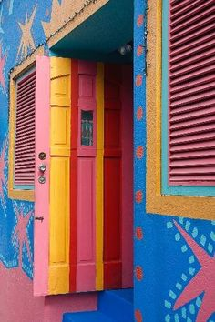 .~Barbados : most buildings/homes have very vivid colors. love it! http://www.travelbrochures.org/198/north-america/the-beautiful-land-of-barbados@adeleburgess~.