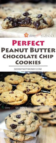 The most perfect Peanut butter Chocolate Chip Cookies you can make! by veronicawasp