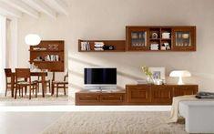 Complementi zona giorno Bookcase, Indoor, Shelves, Interior Design, Furniture, Home Decor, Open Space, Homes, Tv