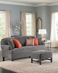 Sure Fit Slipcovers: Welcome May and the Spring Season with HGTV Color of the Month!