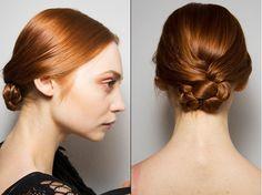 catwalk bun hair - Google Search