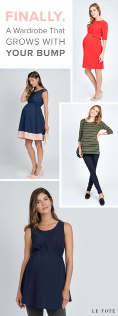 Why buy when you can borrow? Always have something new to wear. Shop fashionable maternity looks and top brands at letote.com!