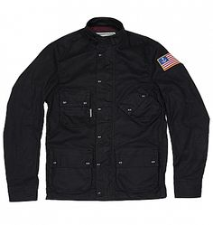 INR X Vanson Mojave Jacket : Iron & Resin