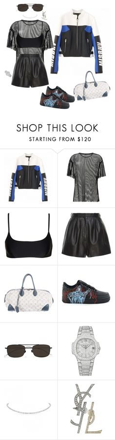 """""""Untitled #684"""" by ga-gs ❤ liked on Polyvore featuring MISBHV, Helmut Lang, Matteau, Lanvin, Louis Vuitton, Ann Demeulemeester, Patek Philippe, Yves Saint Laurent and vintage"""
