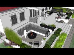 backyard designs – Gardening Ideas, Tips & Techniques Backyard, Patio, Amazing Gardens, Woodland, House Design, Mansions, Landscape, House Styles, Illustration