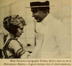 #2 Another view of Wallace Reid and the autographed shirt by an actress