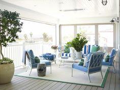 sun room/patio  Home Tour: Inside an Awesome Coastal California Home via @domainehome