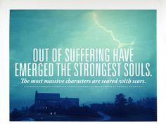the strongest souls.