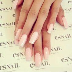 PiaMia's long pink nails via Instagram @esnails