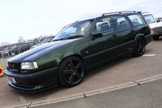 Volvo 850 T-5R Estate Olive Green 2 | by AcidicDavey