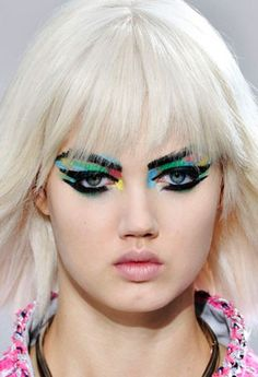 Spring Beauty is Having an Art Attack - theFashionSpot