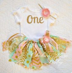 Baby girl body and Tutu first year