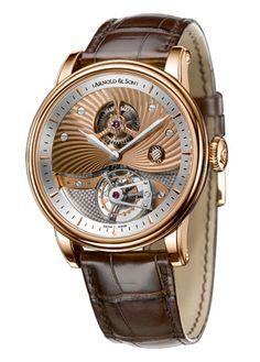 1SAP.G01A.C21A Arnold & Son часы Grand Complications TE8 Tourbillon - швейцарские мужские часы наручные, золотые