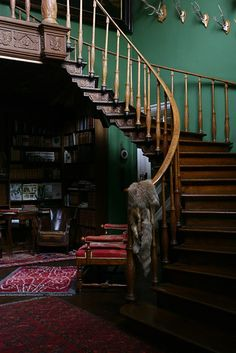british racing green wall - Google Search