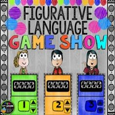 Figurative Language can be fun to review and practice when you use Figurative Language Game Show! Students will beg to play again and again. Perfect for test prep! ✩Put students in up to 6 groups to play this Jeopardy style game! Review days can be dull and kids just don't listen.