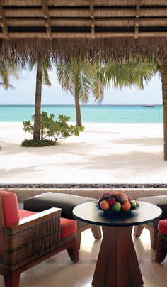 Beach Villa terraces come with awesome Indian Ocean views.
