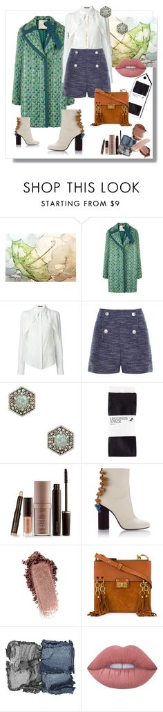 """Easy Breezy"" by ohnoflo on Polyvore featuring Marco de Vincenzo, Alexander McQueen, Balenciaga, Rebecca Minkoff, H&M, Laura Mercier, Chloé, NARS Cosmetics and Lime Crime"
