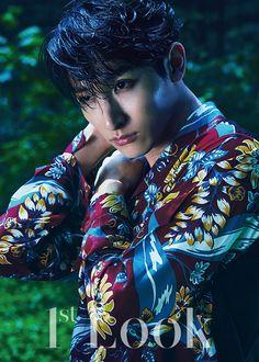 Jang Dong Gun Covers Look's Vol. 69 + Lee Soo Hyuk's Colorful & Green Pictorial Lee Hyuk, Lee Jong Suk, Asian Actors, Korean Actors, Korean Actresses, Kdrama, Hyun Seo, Sung Joon, Choi Jin