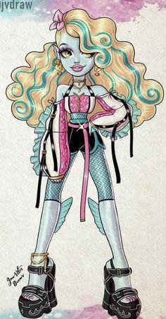 Monster High Art, Monster High Dolls, Box Art, Cute Art, Cute Pictures, Character Design, Princess Zelda, Fashion Drawings, Fictional Characters