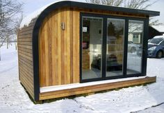 Garden Room(Show Office)...lovely and cozy in the snow!