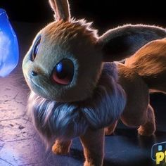 What Eevee in the new Detective Pikachu Pokemon movie could look like. By: Jonathan Zarate Sanchez Pikachu Pikachu, Pokemon Eeveelutions, Eevee Evolutions, Pokemon Film, Gif Pokemon, Pokemon Movies, Pokemon Craft, Pokemon Na Vida Real, Pokemon In Real Life