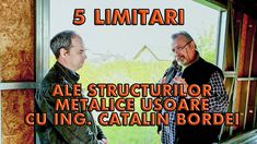 5 LIMITĂRI ALE STRUCTURILOR METALICE UȘOARE Places To Visit, Interview, Construction, Science, Baseball Cards, Metal, Youtube, Building, Science Comics