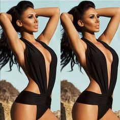 Shop Women's Black size L One Pieces at a discounted price at Poshmark. Description: One piece black monokini... Halter... Black size Large... Body hugging.. Backless.. Stretchy.. BRAND NEW WITH TAGS. Sold by travelbug21. Fast delivery, full service customer support.