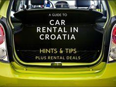 Car Rental in Croatia   Croatia Travel Blog
