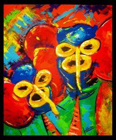 cuadros del carnaval de barranquilla - Buscar con Google Painting, Image, Wallpapers, Crop Tops, Google, Figurative, Abstract, Art, Tropical Party Decorations
