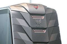 This is Acer's crazy-looking Predator series of gaming machines | The Verge | Coming in Q3 this year, it has that Iron Man inspired look. What can possibly go wrong with steel and red, no?