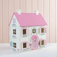 George Home Wooden Dolls House and Large Furniture Set | View All Toys | George at ASDA