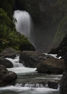Tulgao Falls, Kalinga Province, North Luzon, Philippines; photo by .Zach Hessler