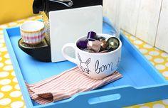 Uma dica rápida: crie uma xícara personalizada e única!