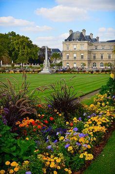 phylliscoppolino: (vía Pin para junio Jenison en Francia | Pinterest) Luxembourg Palace y Jardines, París Flickr por ChuckPalmer {cepalm}