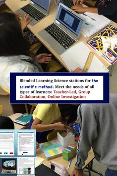 Help students learn the scientific method with these blended learning science stations. Students will do online simulations, group investigations, and teacher-led investigations to help them learn the scientific method