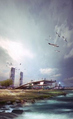SYNWHA Consortium Wins Competition to Design Waterfront Park for Busan North Port: