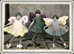 vintage colorized photo art