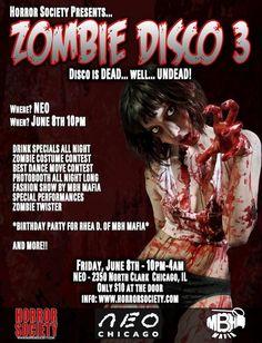 Horror Society: Horror Society Presents.... ZOMBIE DISCO 3