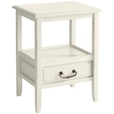 Anywhere End Table - Antique White | Pier 1 Imports