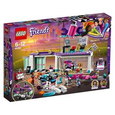 Lego Friends 41351 Creative Tuning Shop in One Colour Go Kart Designs, Hama Beads Minecraft, Minecraft Houses, Perler Beads, Lego Duplo, Lego Ninjago, Cool Go Karts, Legos, Amazon Lego